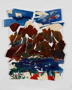 jwsc_paper_23 wolfschlossberg-cohen_jay_landscape_acrylics_eilat israel_32x28
