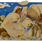 wolfschlossberg-cohen_jay_landscape_acrylics_joshua_tree_intimate_cap_rock_12ft x13ft